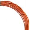 Aluminum Wire 12ga (2.5mm) 30ft Round Orange